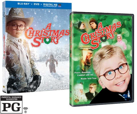 A Christmas Story on Blu-Ray Combo Pack sweepstakes