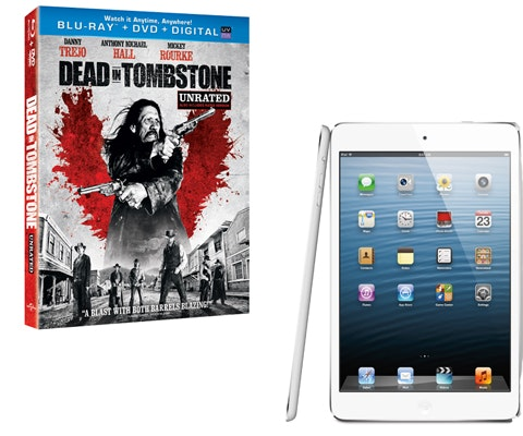 iPad Mini & Dead in Tombstone Combo Pack sweepstakes