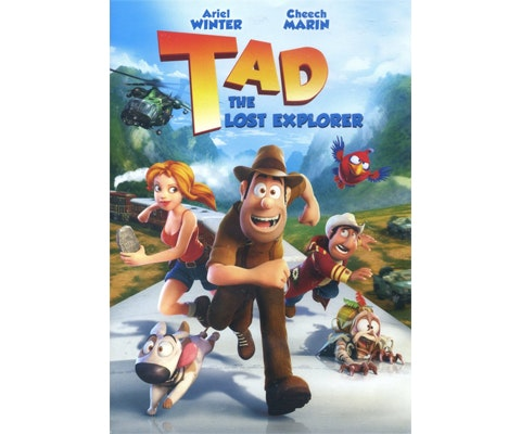 """Tad the Lost Explorer"" on DVD sweepstakes"
