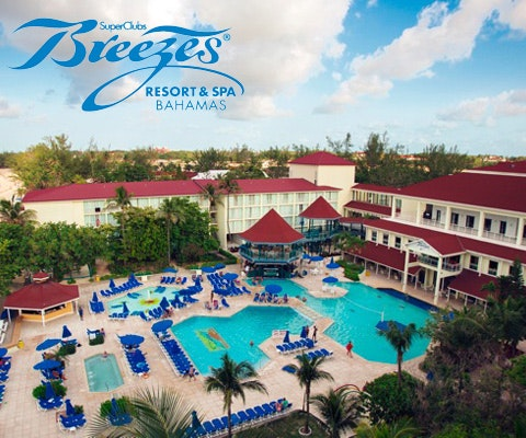 Trip to Breezes Bahamas sweepstakes