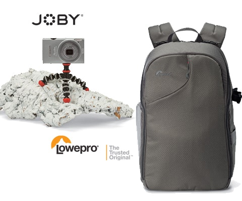 JOBY & Lowepro Camera Accessories Set sweepstakes