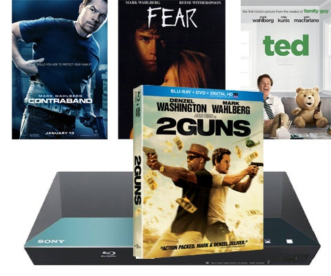 Sony Blu-ray Player & Mark Wahlberg Movie Combo Pack sweepstakes