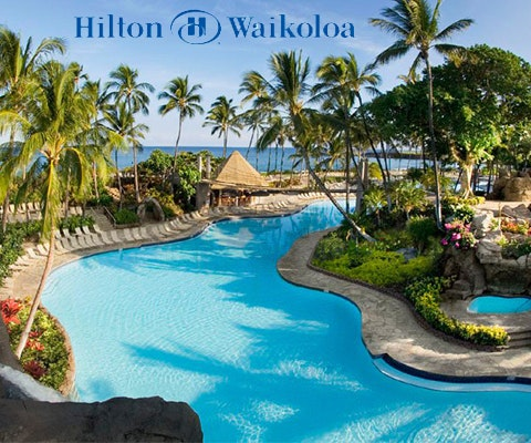 Hilton Waikoloa Village in Hawaii sweepstakes