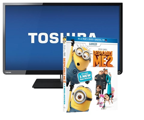 Flat-screen TV & Despicable Me 2 sweepstakes
