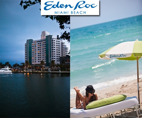 Stay for two at Eden Roc Miami Beach sweepstakes