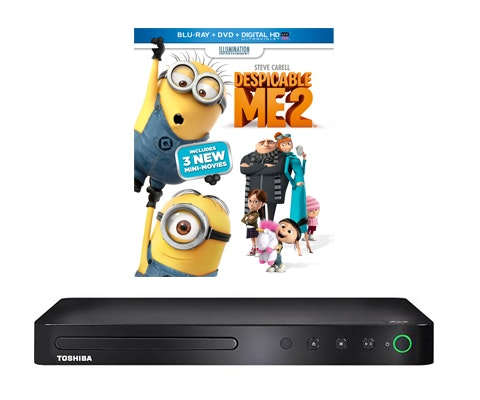 """Despicable Me 2"" on DVD & a Blu-ray Player sweepstakes"