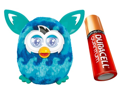 Furby Boom from Duracell sweepstakes