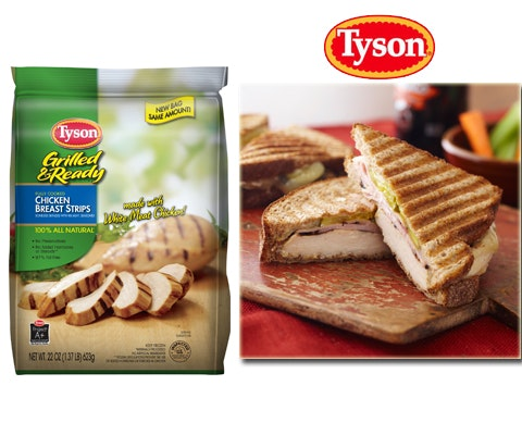 Year's Supply of Tyson Foods sweepstakes