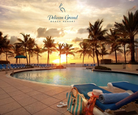 Stay at the Pelican Grand Beach Resort sweepstakes
