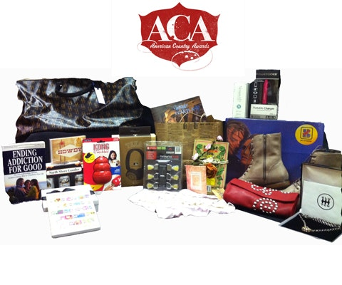 Gift Bag from the American Country Awards sweepstakes