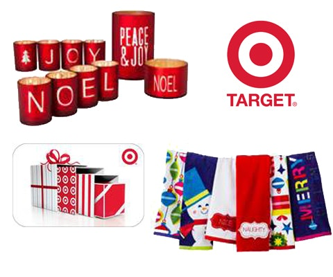 $200 Target Gift Card for the Holidays sweepstakes