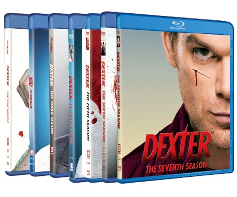 seven seasons of Dexter on Blu-Ray - plus a Blu-Ray playe sweepstakes