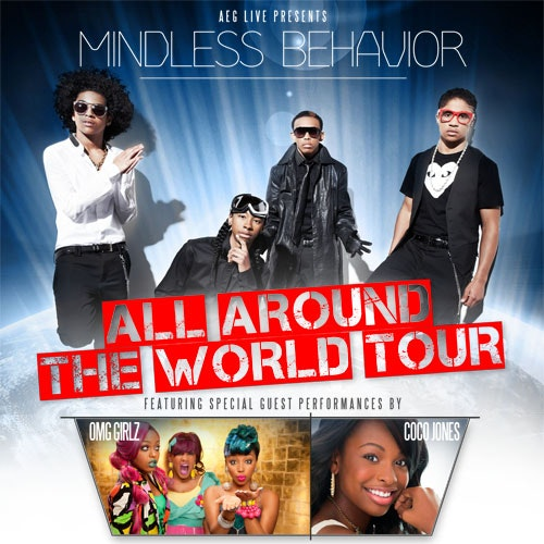 Mindless Behavior tickets sweepstakes