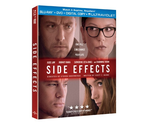 """Side Effects"" on Blu-Ray/DVD! sweepstakes"