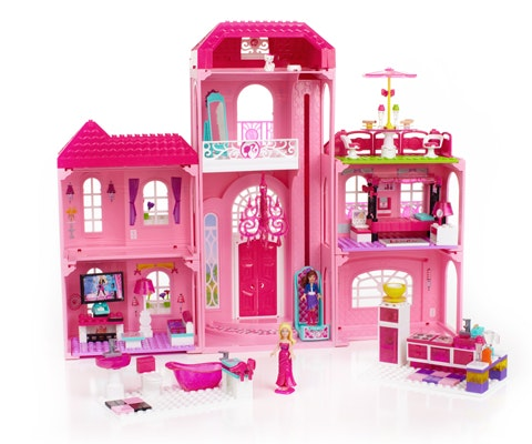 Mega Block Barbie set sweepstakes