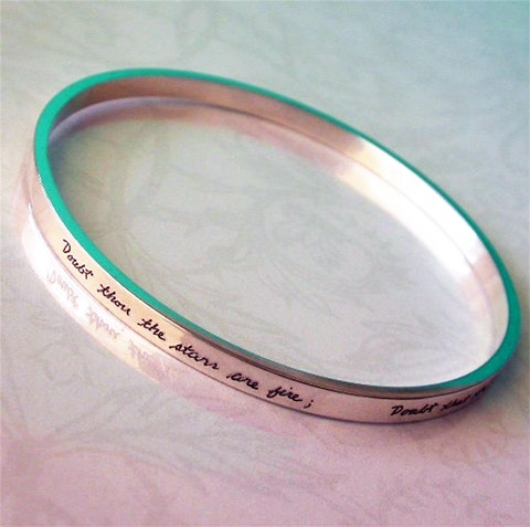 custom-engraved bracelet sweepstakes