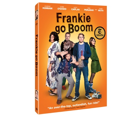 Frankie Go Boom DVD plus a portable DVD player sweepstakes