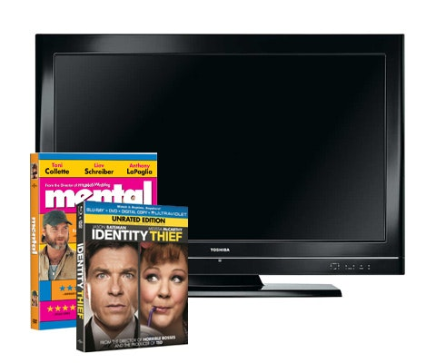 "Mental and Identity Theif on DVD + 32"" flat screen sweepstakes"